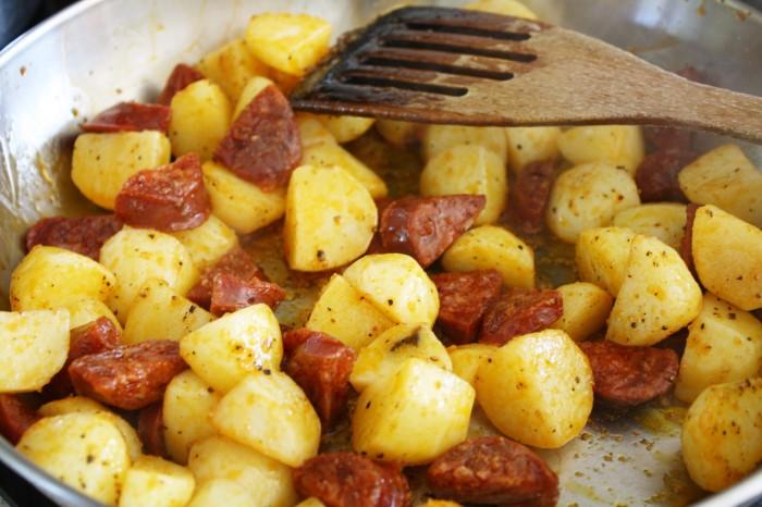 Chorizo cod recipe wish to dish 1
