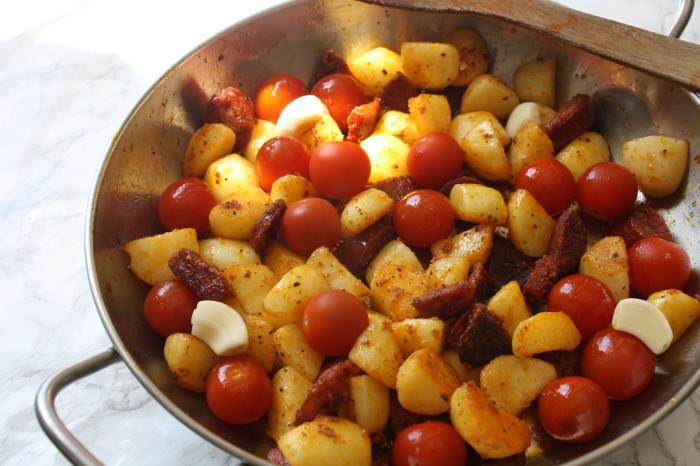 Chorizo cod recipe wish to dish 2