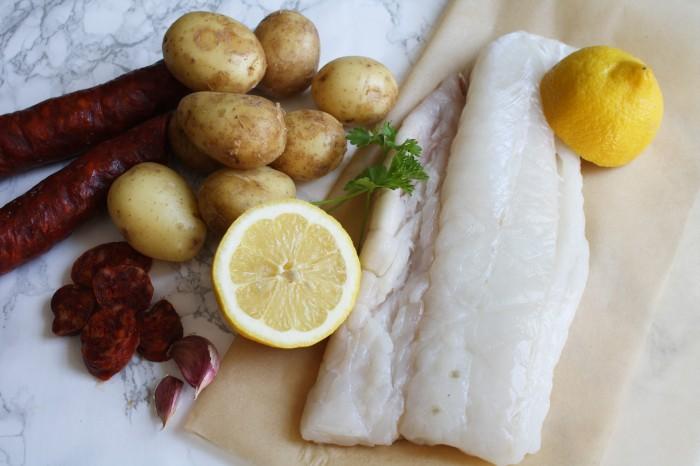 Chorizo cod recipe wish to dish