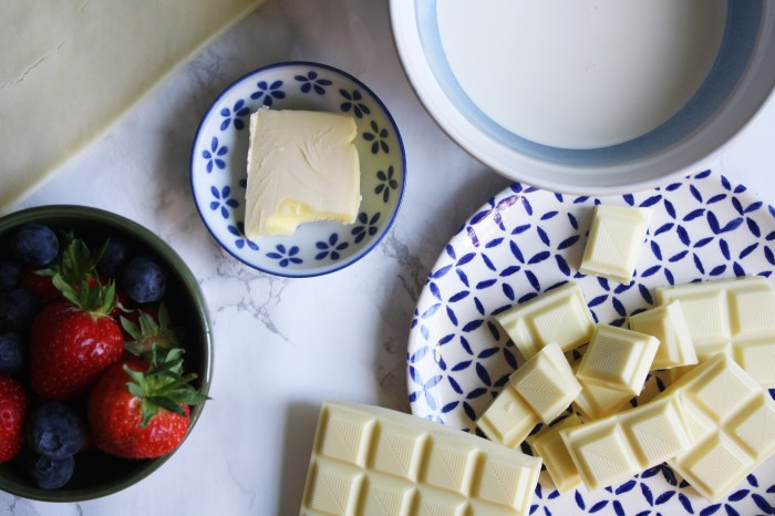 White chocolate berry tart recipe wish to dish